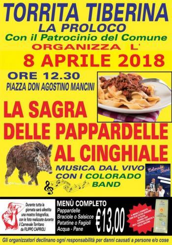 SAGRA DELLE PAPPARDELLE AL CINGHIALE Proloc10
