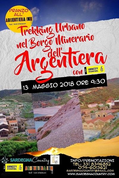 """Trekking Urbano """"All'Argentiera con Amnesty International"""" Trekki10"""