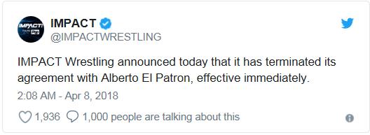 [Contrat] Alberto El Patron viré par Impact Wrestling !  Captur21