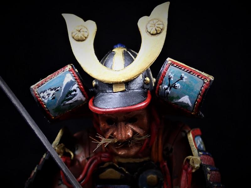 Petit test entre deux petits blindés Samurai  MiniArt 1/16 Alex2014