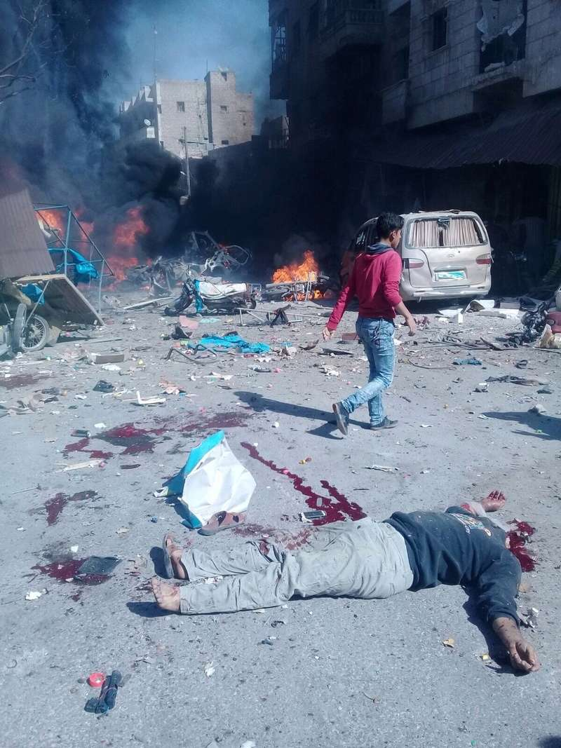 قائمة أوليه باسماء شهداء مدينة الباب نتيجة التفجير الإرهابي Image11