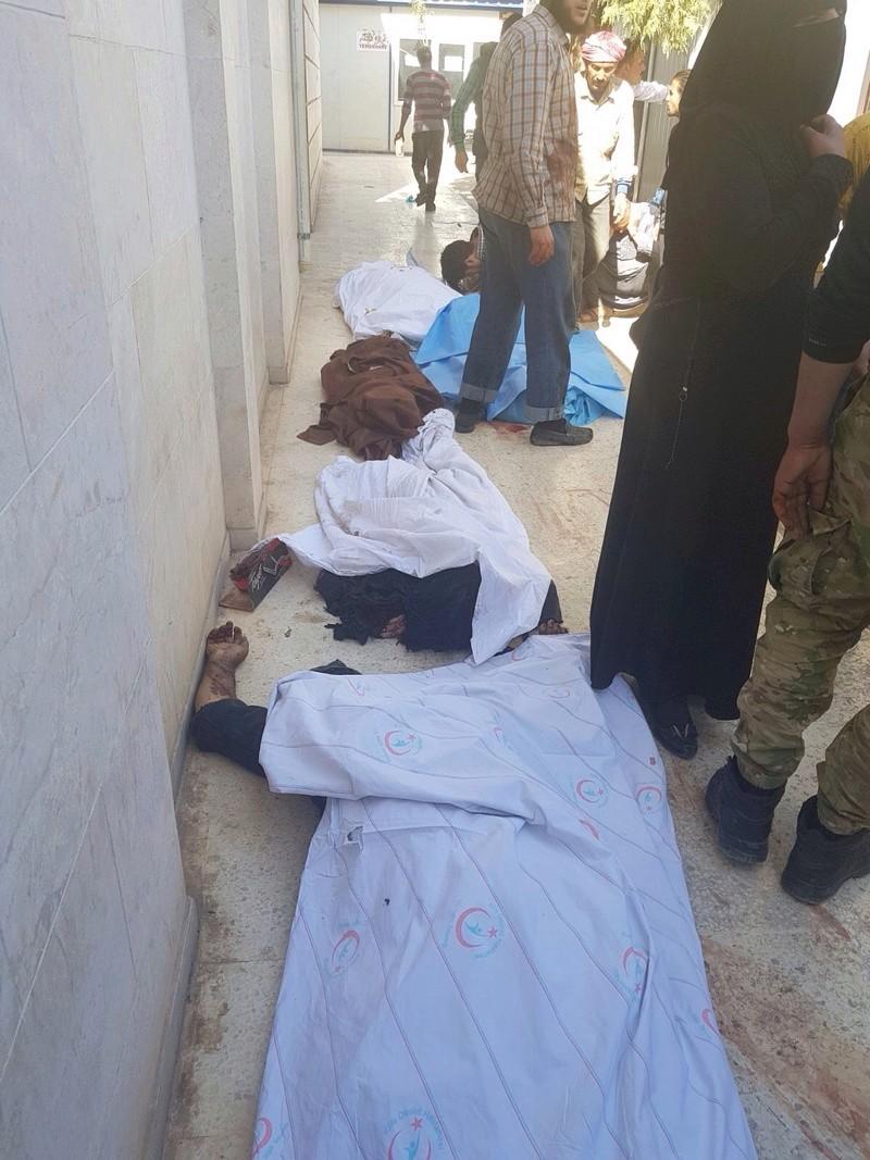 قائمة أوليه باسماء شهداء مدينة الباب نتيجة التفجير الإرهابي Image12