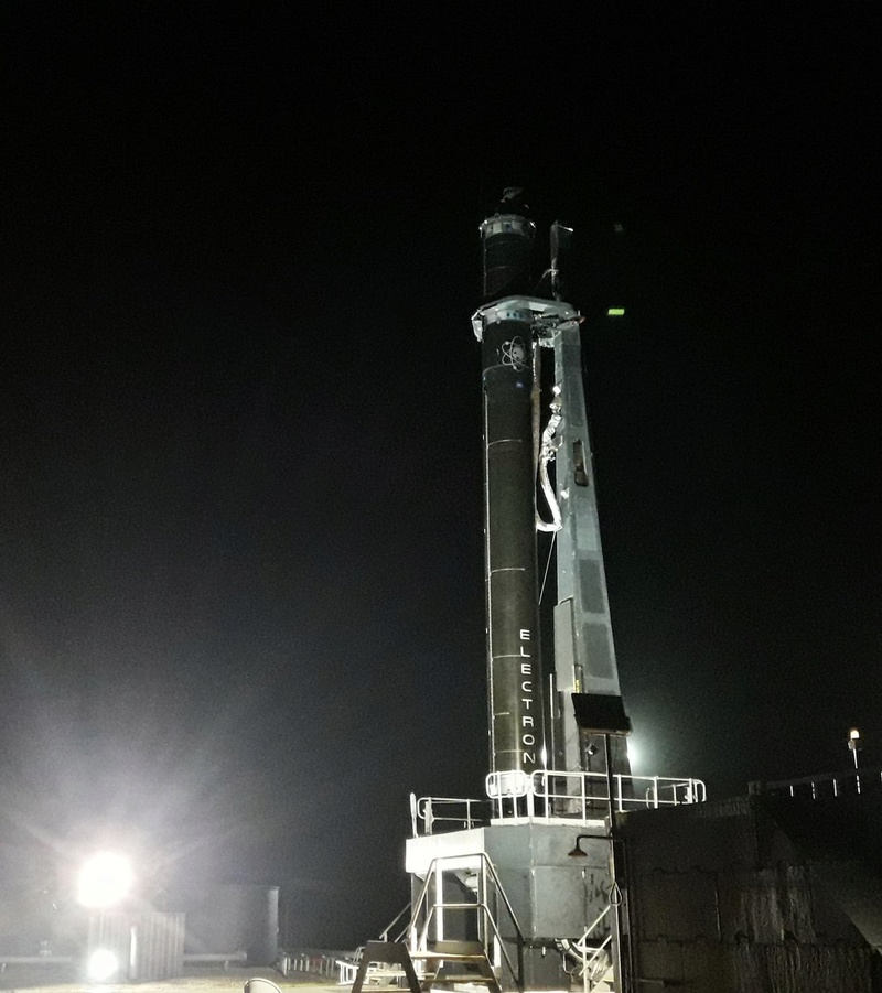 "[Rocket Lab] Electron n°3 (""It's business time"") - 11.11.2018 Daktyi10"