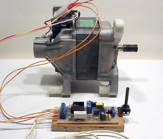 Variateur pour moteur de machine a laver Tda10810