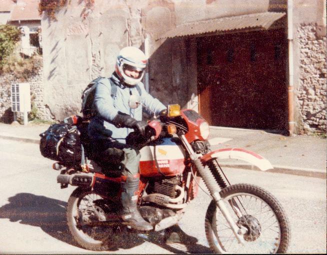 500XLR de 1982 remise en route. Moto13