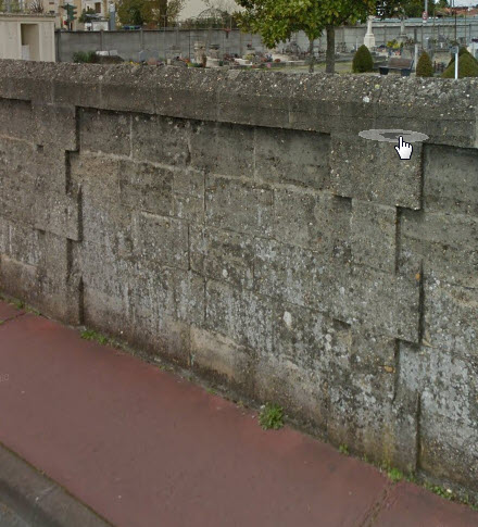 Identification/Localisation d'un cimetière de guérilleros espagnols Mur_ex10