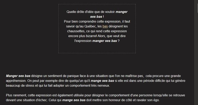 Le jeu des Expressions Québécoises - Page 23 Rypons20