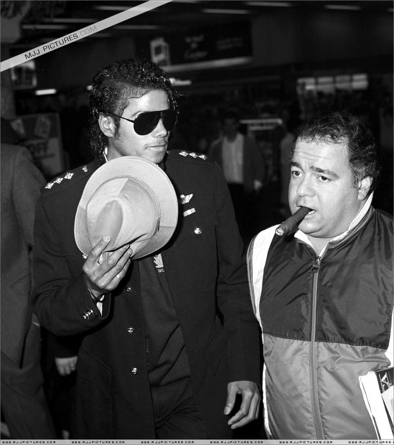1985- Michael at Heathrow Airport 00137