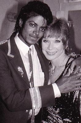 1984- Michael Visits Shirley McClain 00236