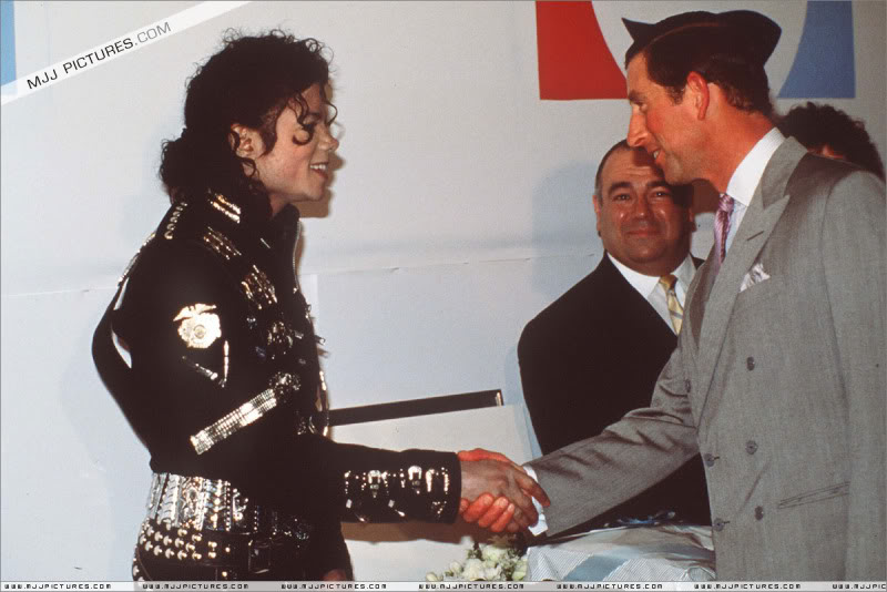 Bad World Tour Offstage 1988- Meeting Princess Diana & Prince Charles 003-8211