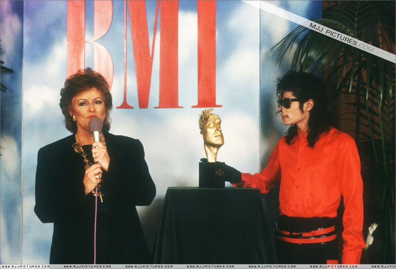 1990- The BMI Michael Jackson Award 00391