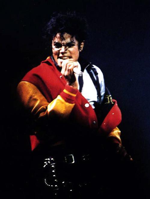 Bad World Tour Onstage- Thriller 00398
