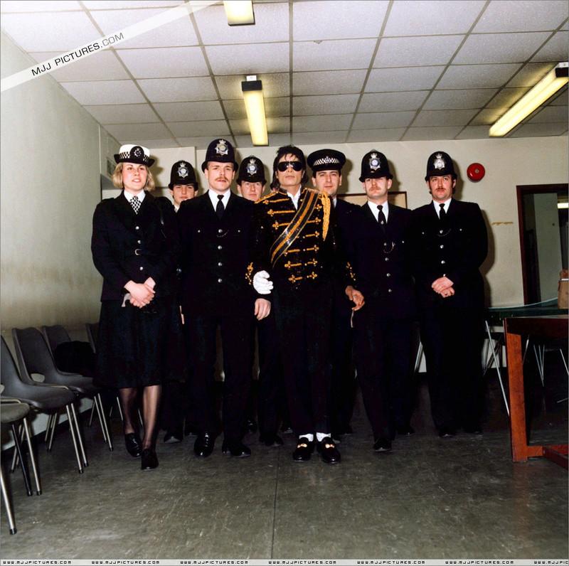 1985- Michael Visits Marylebone Police Station 00435