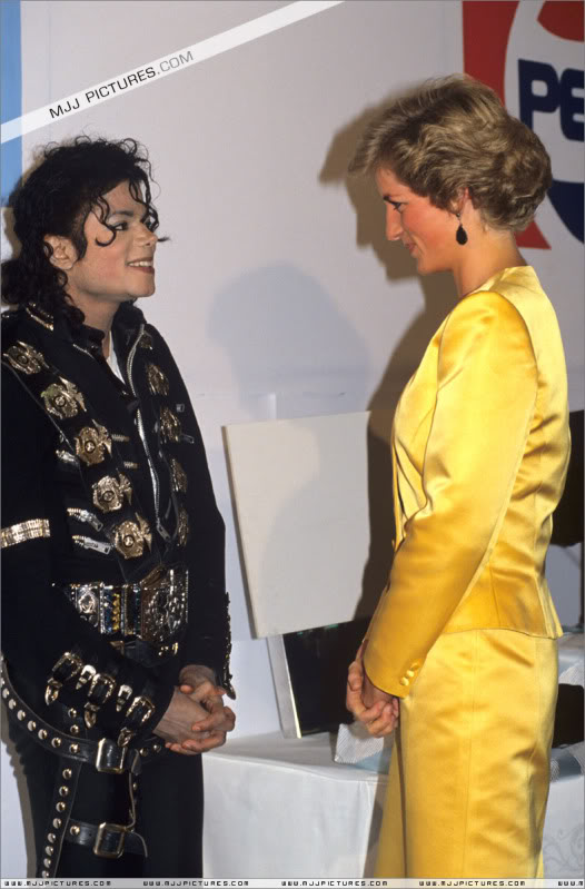 Bad World Tour Offstage 1988- Meeting Princess Diana & Prince Charles 006-6611