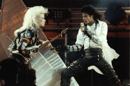 Bad World Tour Onstage- Dirty Diana 00966