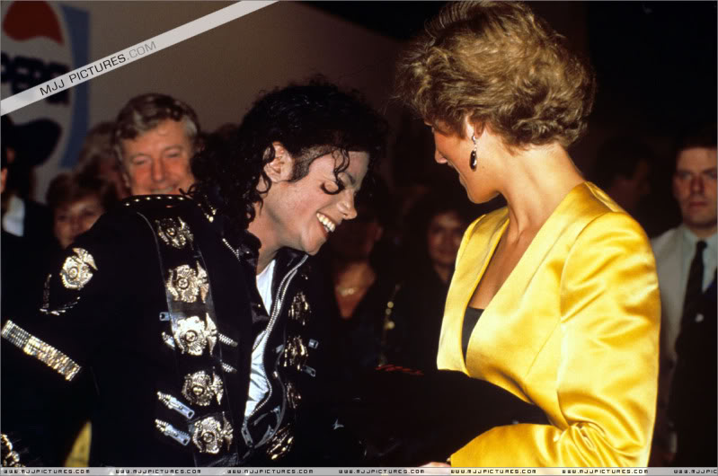 Bad World Tour Offstage 1988- Meeting Princess Diana & Prince Charles 010-5811
