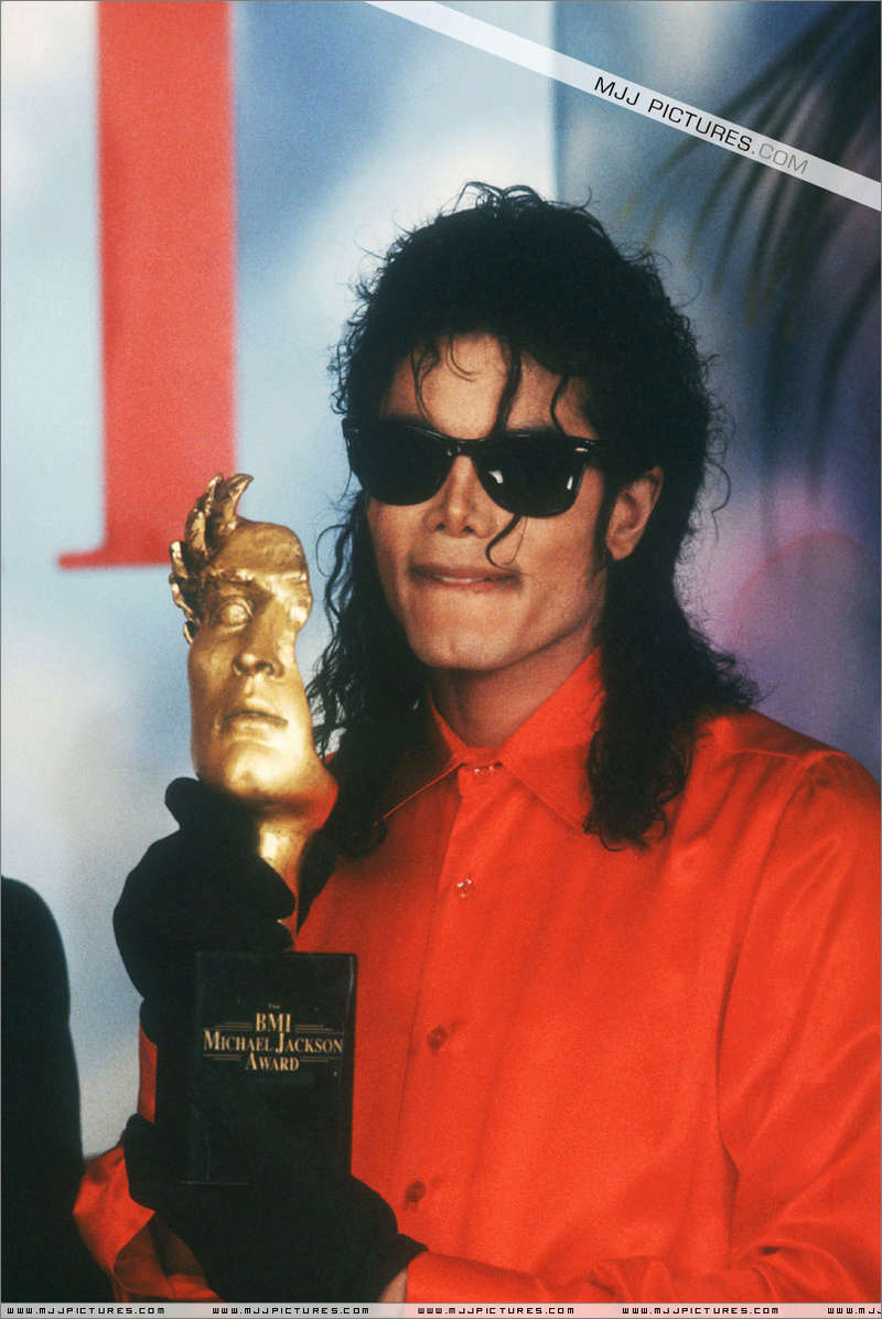 1990- The BMI Michael Jackson Award 01059