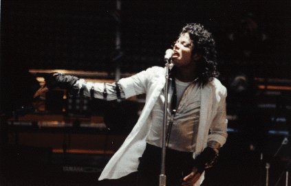 Bad World Tour Onstage- Dirty Diana 01062