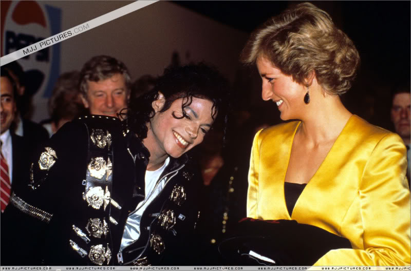 Bad World Tour Offstage 1988- Meeting Princess Diana & Prince Charles 011-5411