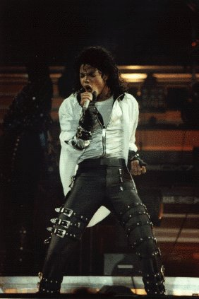 Bad World Tour Onstage- Dirty Diana 01158