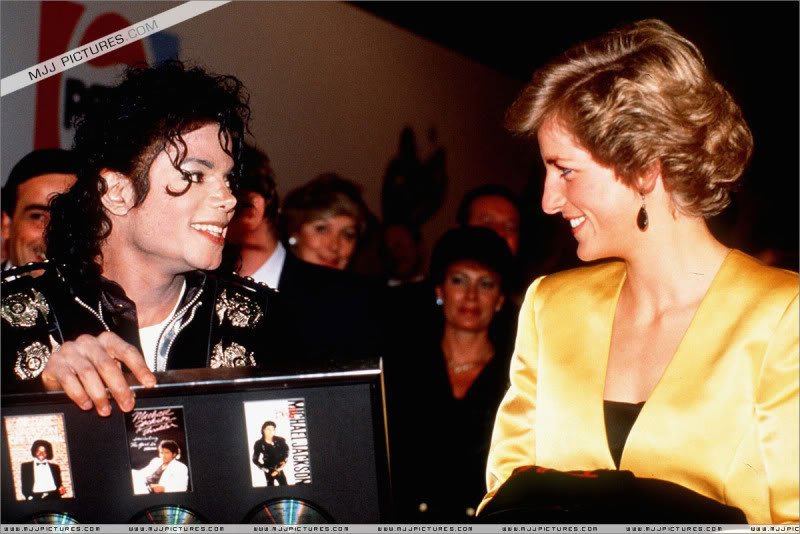 Bad World Tour Offstage 1988- Meeting Princess Diana & Prince Charles 012-5111