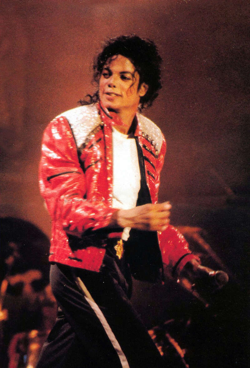Bad World Tour Onstage- Beat It 01252