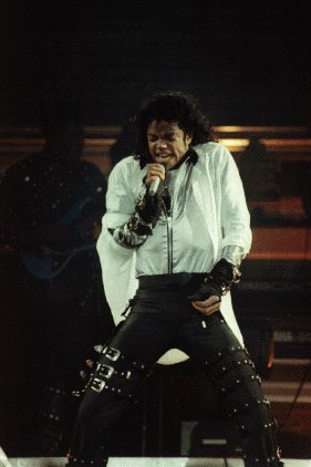 Bad World Tour Onstage- Dirty Diana 01254