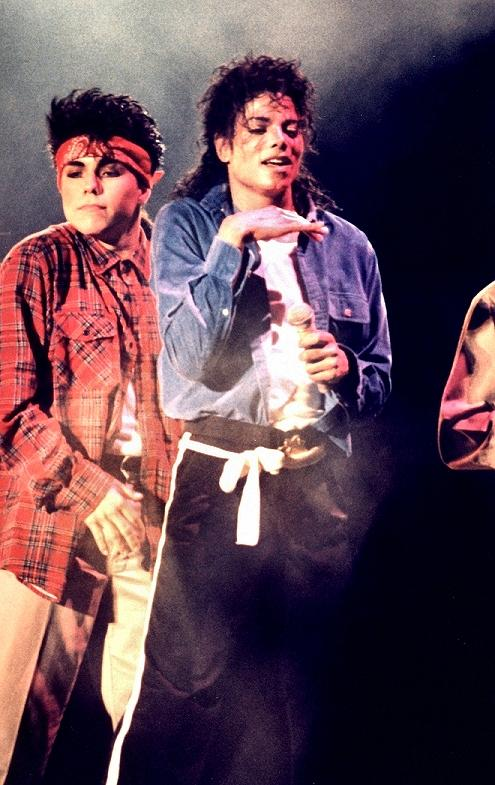 Bad World Tour Onstage- The Way You Make Me Feel 01256
