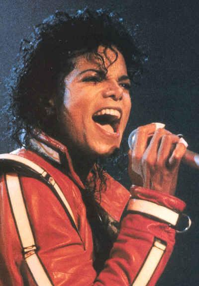 Bad World Tour Onstage- Thriller 01352