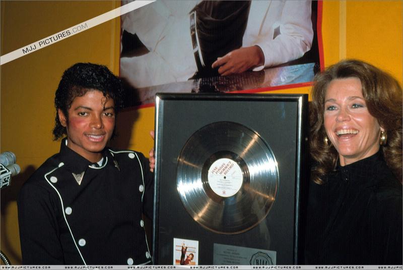 1983- Platinium Certification for Thriller 01421