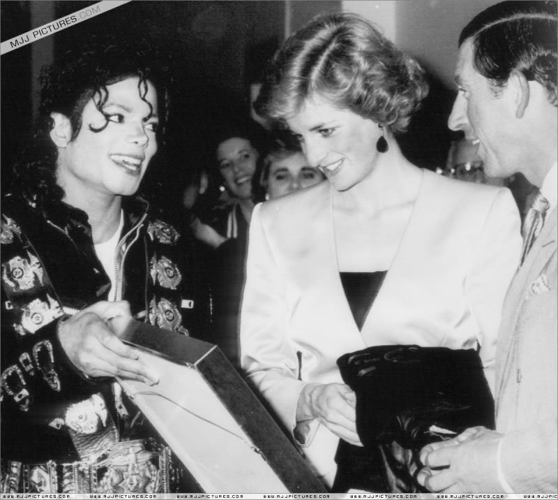Bad World Tour Offstage 1988- Meeting Princess Diana & Prince Charles 015-4411