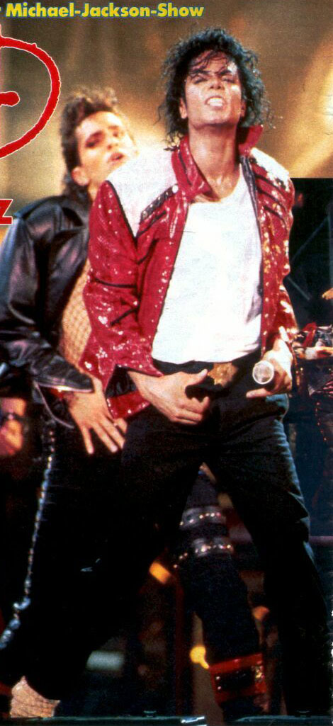 Bad World Tour Onstage- Beat It 01650