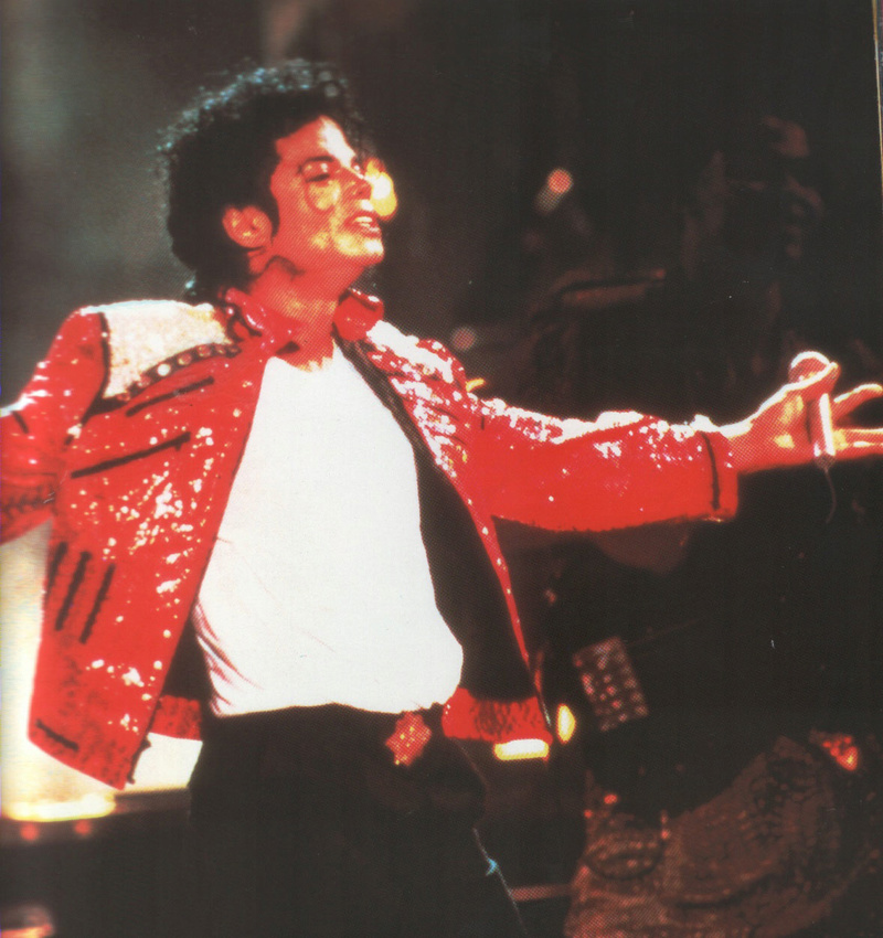 Bad World Tour Onstage- Beat It 01845