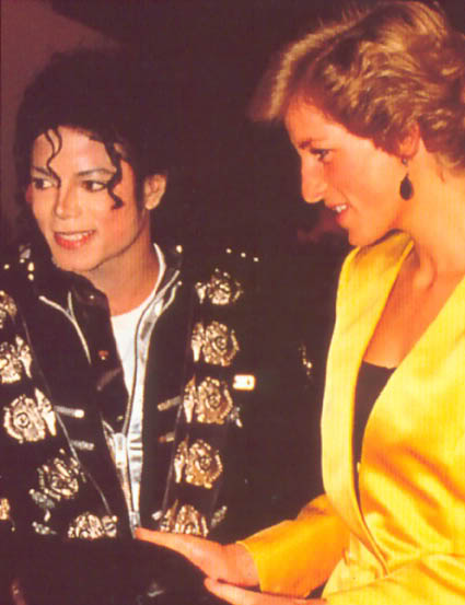 Bad World Tour Offstage 1988- Meeting Princess Diana & Prince Charles 019-4110