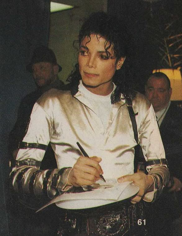 Bad World Tour Offstage 1989- Miscellaneous 020-4110
