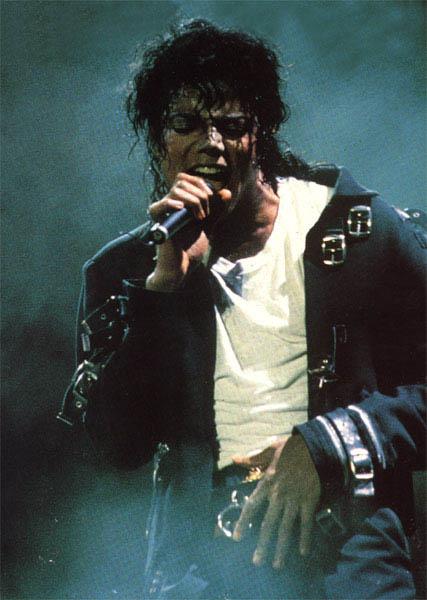 Bad World Tour Onstage- Bad 02046