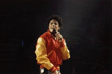 Bad World Tour Onstage- Thriller 02050