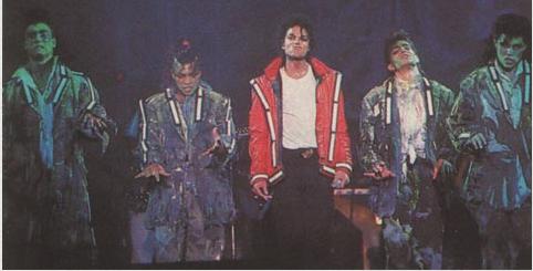 Bad World Tour Onstage- Thriller 02144