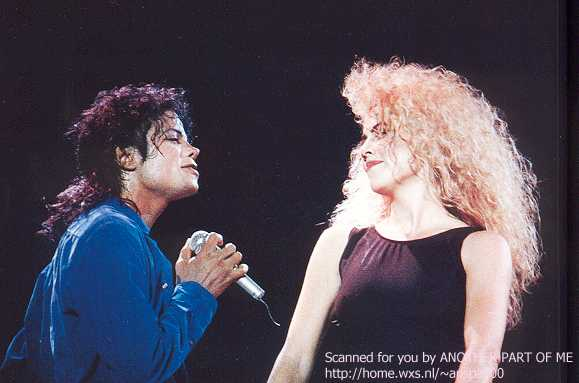 Bad World Tour Onstage- The Way You Make Me Feel 02242