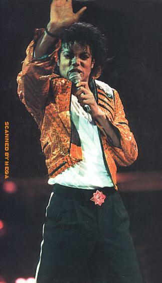 Bad World Tour Onstage- Beat It 02337