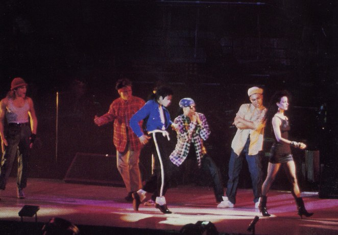 Bad World Tour Onstage- The Way You Make Me Feel 02339