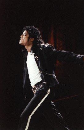Bad World Tour Onstage- Bad 02436