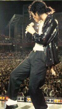 Bad World Tour Onstage- Billie Jean - Shake Your Body (Down To The Ground) 02634