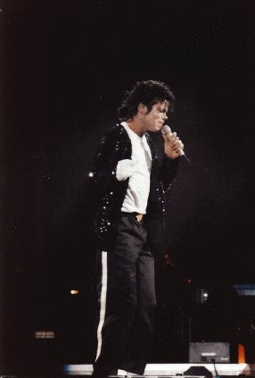 Bad World Tour Onstage- Billie Jean - Shake Your Body (Down To The Ground) 02736