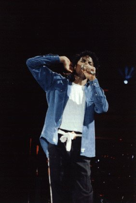 Bad World Tour Onstage- The Way You Make Me Feel 02833