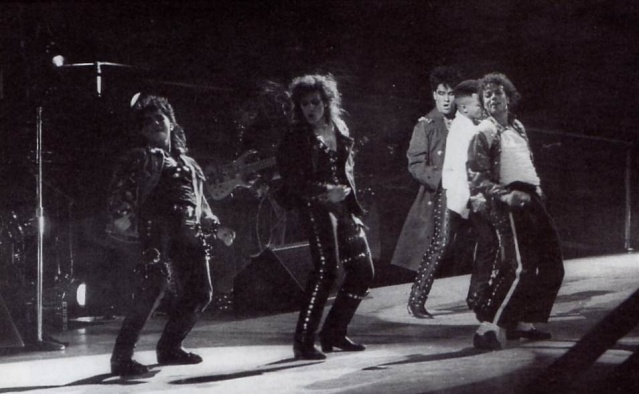 Bad World Tour Onstage- Beat It 02929