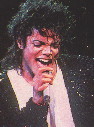 Bad World Tour Onstage- Billie Jean - Shake Your Body (Down To The Ground) 02930