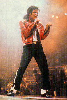 Bad World Tour Onstage- Beat It 03227