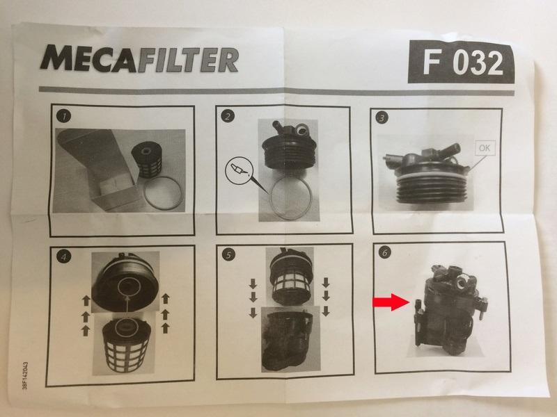 [ Peugeot 5008 1.6 bluehdi 120 an 2015 ] Changement filtre à gasoil (résolu) Img_7410