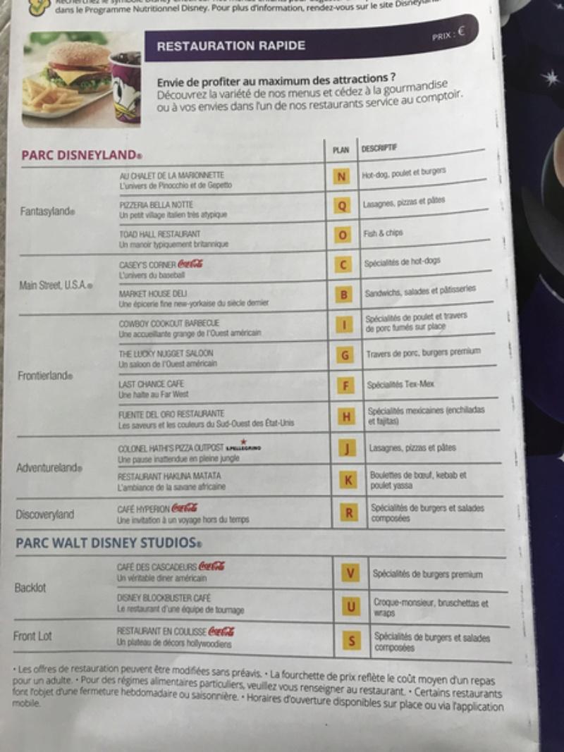 Les menus des Fast food et restauration rapide à Disneyland Paris - Page 23 Image10